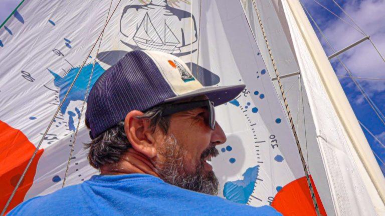 Capt. Brian's Favorite sail! The Mizzen Ballooner! Sailing Vessel Delos Ep. 224