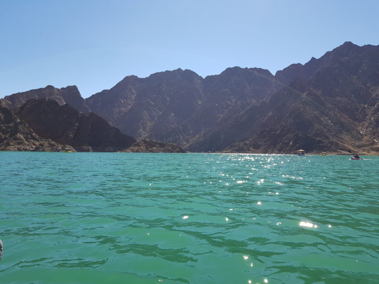 Diving in Fujairah in UAE
