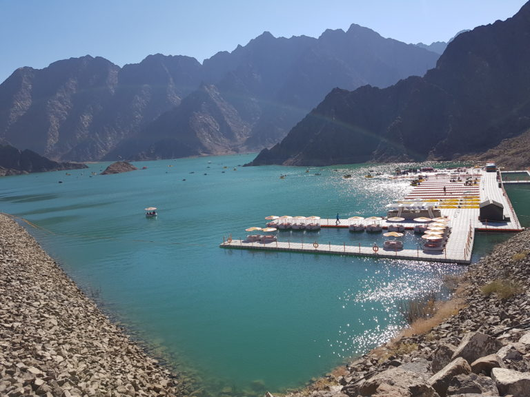 Hatta a water park in the UAE
