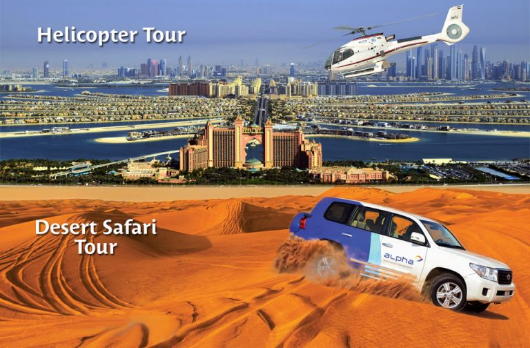 6-Hour Helicopter and Desert Safari Combo Tour of Dubai, United Arab Emirates